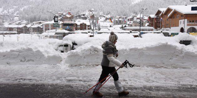 Zermatt, dans le canton du Valais où s'est déroulé l'avalanche, début janvier