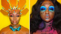 Ses maquillages sur Instagram s'inspirent de sa passion pour le