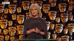 Aux BAFTA, la maîtresse de cérémonie a fait mouche avec son discours sur les