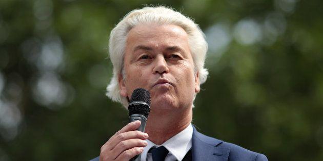 Aux Pays-Bas, le leader de l'extrême droite Geert Wilders annule son concours de caricatures de