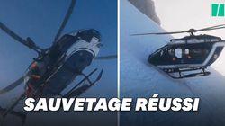 Cet incroyable sauvetage à Chamonix impressionne dans le monde