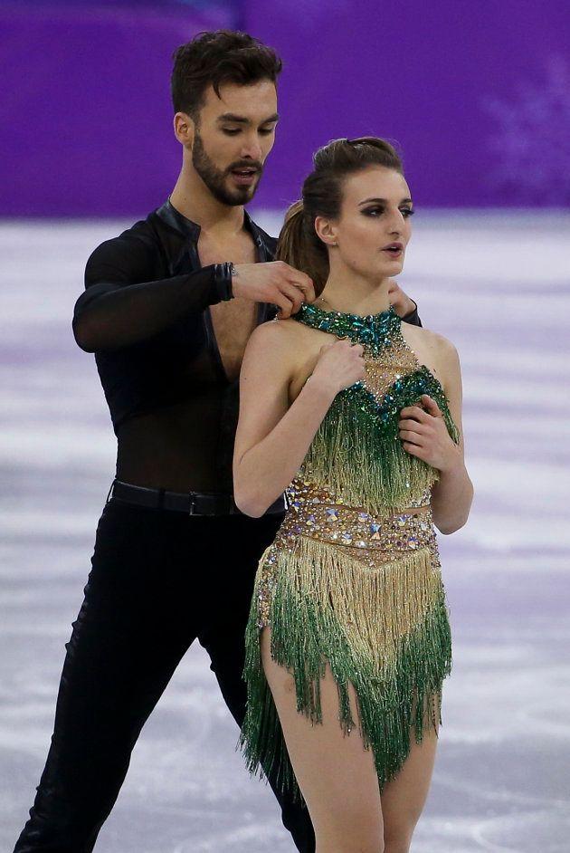 Jeux olympiques d'hiver 2018: Gabriella Papadakis a vécu