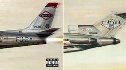 La pochette du nouvel album surprise d'Eminem en a rappelé une autre aux
