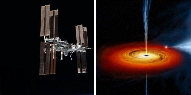 Des chercheurs ont observé les abords d'un trou noir grâce à un instrument de l'ISS capable de capter...
