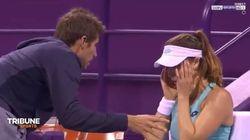 Alizé Cornet se dispute avec son entraîneur (et petit-ami) en plein