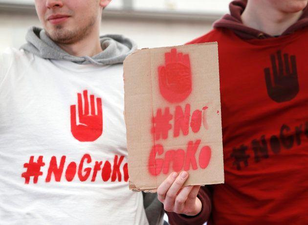 Vivre avec Merkel ou risquer le désastre, les militants du SPD face à un