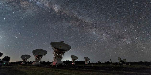 Des télescopes en Australie (photo