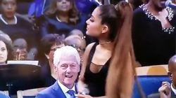 Ariana Grande a chanté pour Aretha Franklin, mais ce n'est pas sa prestation que les internautes ont