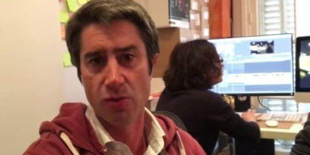François Ruffin dans une vidéo publiée sur ses réseaux sociaux le 9 janvier