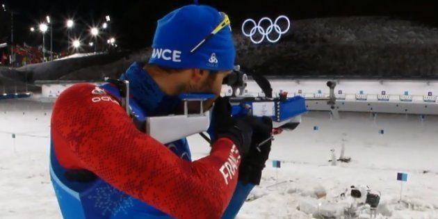 Jeux olympiques d'hiver 2018: Martin Fourcade et l'équipe de France décrochent l'or au relais