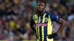 Usain Bolt a fait ses débuts avec son nouveau club de foot (et ce n'était pas