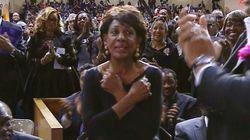 Le dernier salut très symbolique d'une élue américaine à Aretha