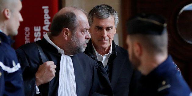 Le parquet requiert trois ans ferme contre Cahuzac, ici en présence de son avocat Eric