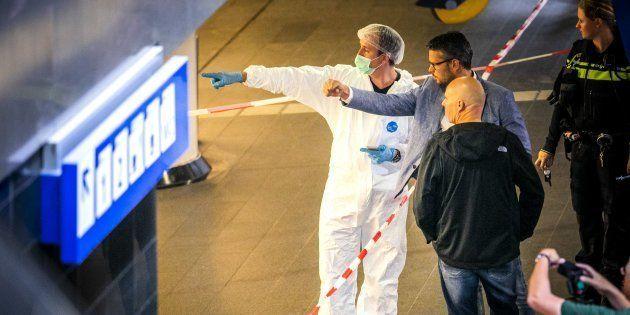 À Amsterdam, l'auteur de l'attaque au couteau avait