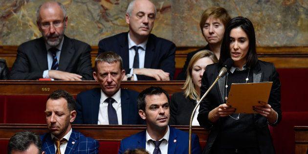 Plusieurs députés LREM, comme Paula Forteza, ont bruyamment exprimé leur opposition au projet de priver...