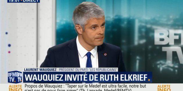 Revivez l'interview de Laurent Wauquiez sur
