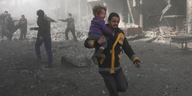 En Syrie, au moins 250 morts en deux jours, la France