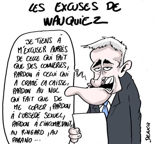 Ce qu'il fallait comprendre des drôles d'excuses de Laurent