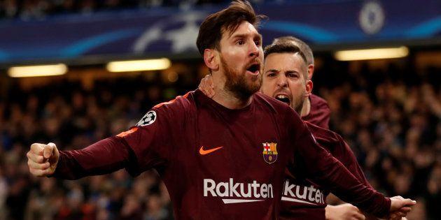 Ligue des Champions: Messi rompt la malédiction face à Chelsea et arrache un nul chanceux pour