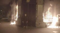 L'artiste russe qui avait incendié la Banque de France condamné à un an de