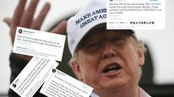 Trump a oublié un mot dans ce tweet sur son mur... et ça change