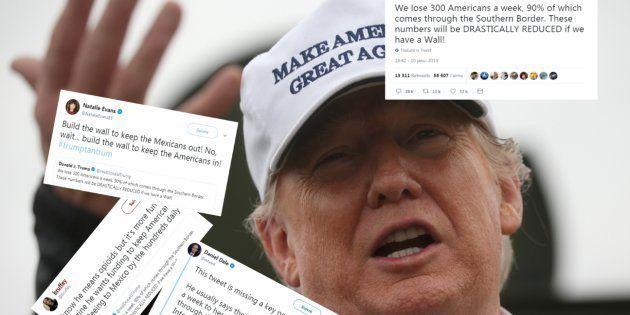 Trump a oublié un mot dans ce tweet... et ça change