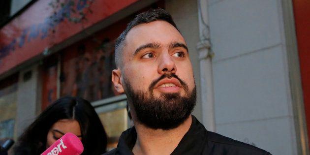 Éric Drouet, principal animateur de la page des gilets