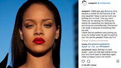 Pour son 30e anniversaire, Rihanna remercie sa mère dans un message