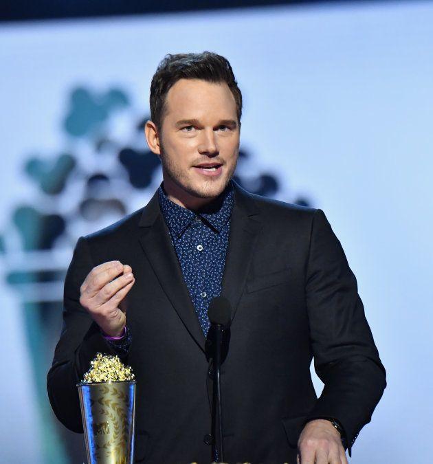 l'acteur Chris Patt parle publiquement de sa foi aux MTV Movie And TV Awards le 16 juin