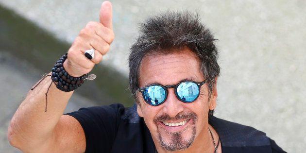 Al Pacino au 71e Festival du film de Venise le 30 août