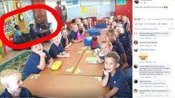 En Afrique du Sud, une photo où enfants blancs et noirs sont séparés fait