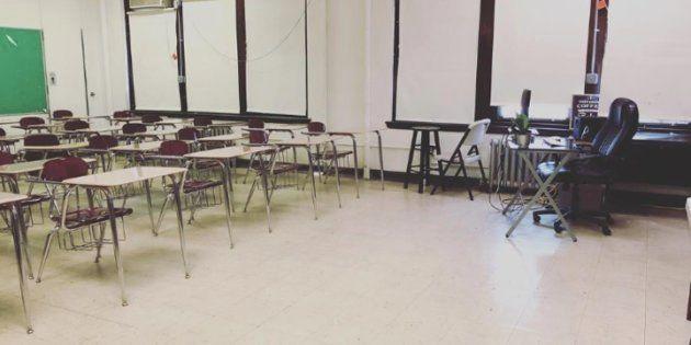 J'ai fait appel à des inconnus pour financer les fournitures de ma salle de classe, et ce n'est pas
