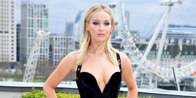 Jennifer Lawrence lors du photocall