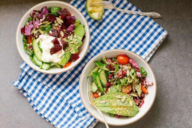 Salade au petit-déjeuner