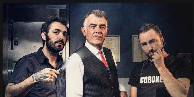 De gauche à droite, Fabio Soares, Stefan Godin