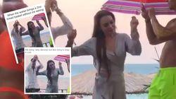 Lindsay Lohan ne s'attendait peut-être pas à faire autant sensation avec cette petite