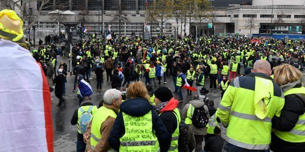 L'acte IX de la mobilisation des gilets jaunes à Paris a débuté par un rassemblement à Bercy. Le cortège...