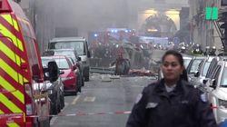 Les images de l'explosion qui a eu lieu à Paris rue de