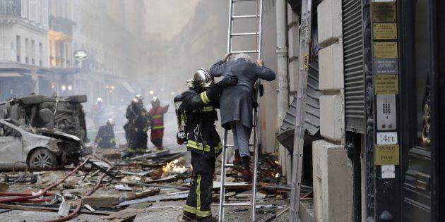 Après l'explosion rue de Trévise, les pompiers alertent sur le risque d'effondrement d'autres