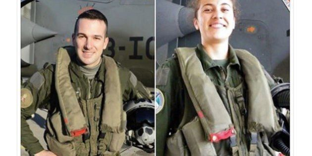 Le capitaine Chirié et la lieutenant Michelon, morts dans