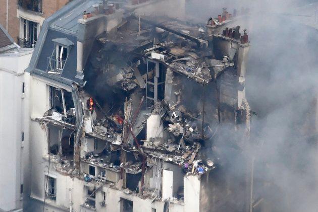 Une photo de l'immeuble rue de Bérite après