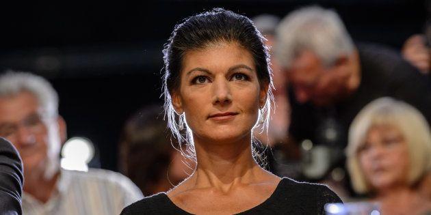 Sahra Wagenknecht, initiatrice du mouvement Aufstehen, le 9 juin à