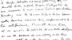 Le testament manuscrit de Johnny Hallyday