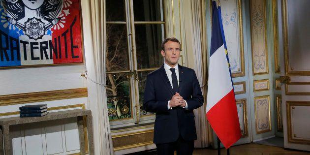 C'est lors de son allocution du 31 décembre que le président de la République avait annoncé qu'il s'adresserait...