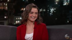 Maisie Williams, alias Arya Stark, connaît la fin de