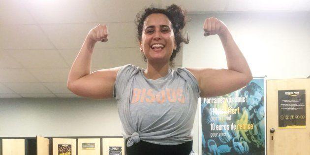 Je pèse 94kg, mais mon corps ne m'empêchera plus jamais de m'aimer et de tenter de devenir égérie d'une salle de sport!