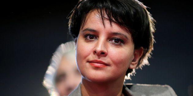 Najat Vallaud Belkacem au meeting de la Belle alliance populaire en décembre