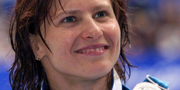 Roxana Maracineanu aux Jeux Olympiques de Sydney en