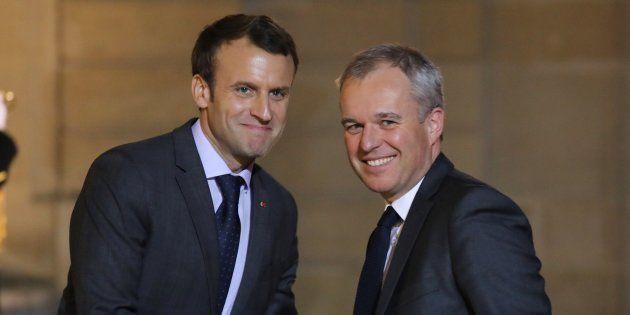 L'actuel président LREM de l'Assemblée nationale (ex-EELV) François de Rugy succède à Nicolas Hulot au...