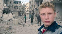 En Syrie, ce garçon de 15 ans filme l'enfer de la Ghouta au